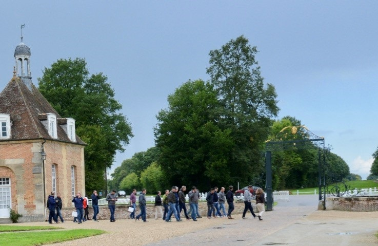 visites groupe haras du pin
