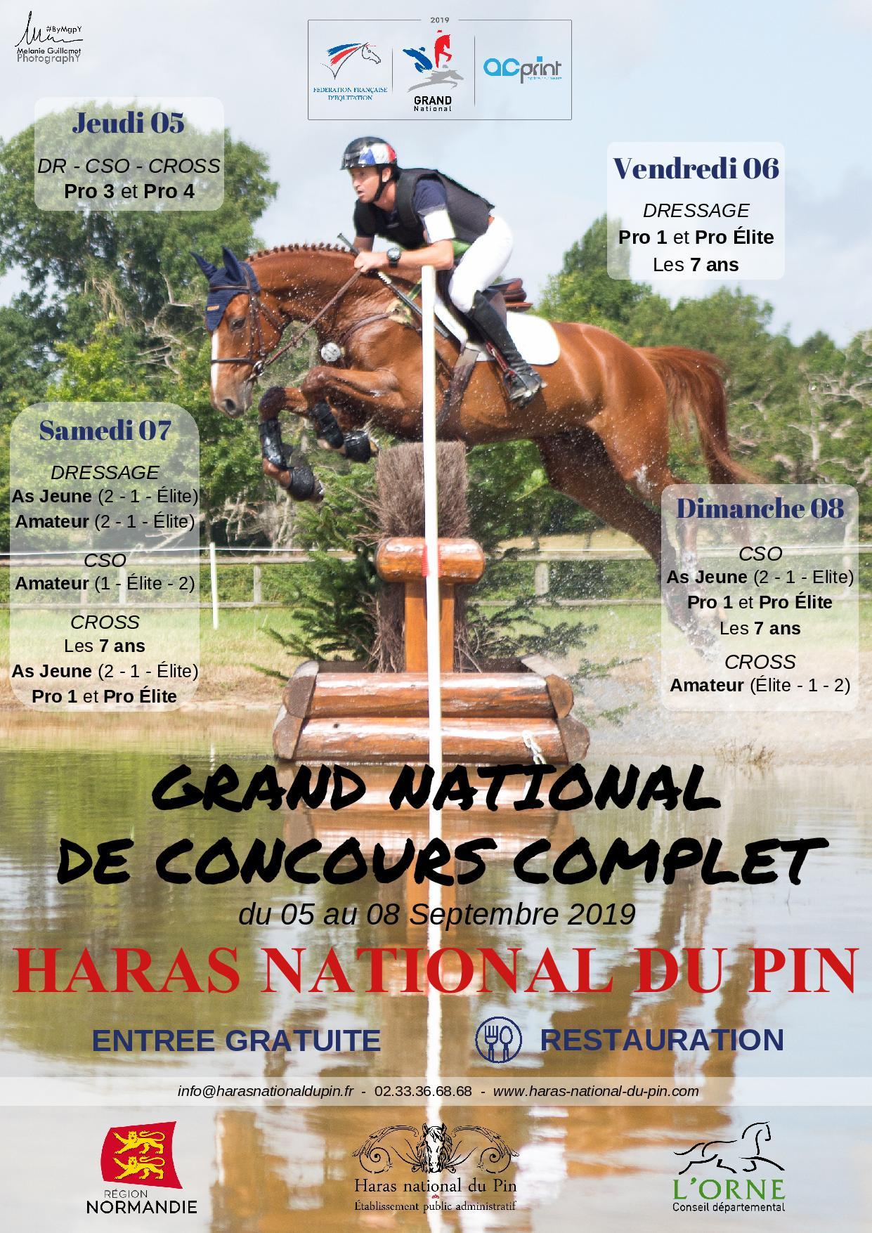 Programme Grand National de Complet