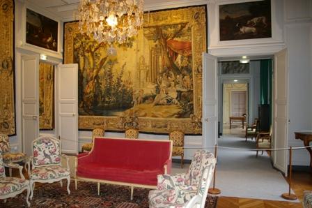 Salon château du Haras du Pin